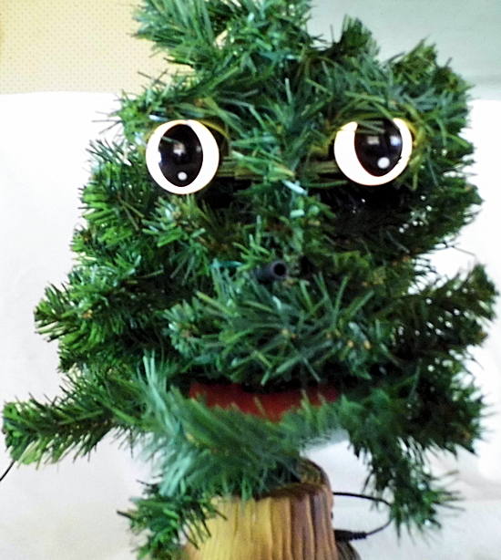 Douglas fir animatronic singing christmas tree ebay